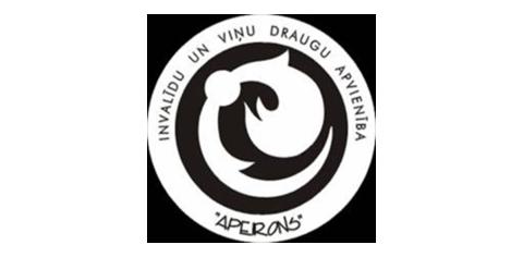 Apeirons Invalīdu un viņu draugu apvienība logo
